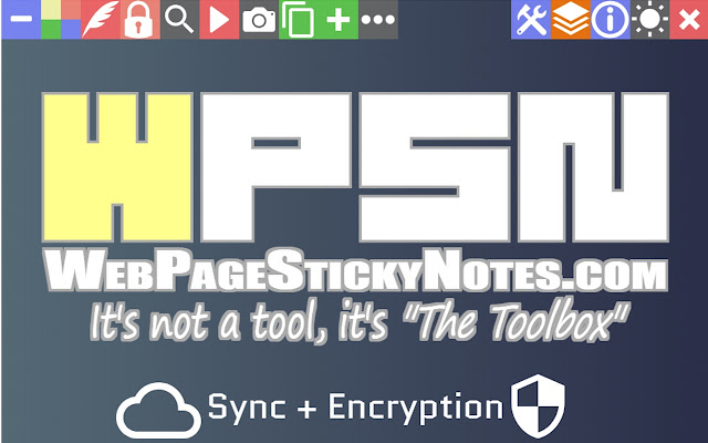 Web Page Sticky Notes