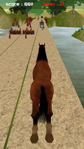 Jungle Horse Run 3D screenshot 2