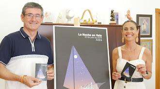 Manuel Cortés y Eli Fernández durante la presentación de la \'Noche en Vela\'.