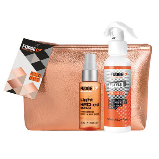 Fudge Blow Out Kit, (Tri-Blo, 150 ml + Light Hed-ed Hair Oil, 50 ml)
