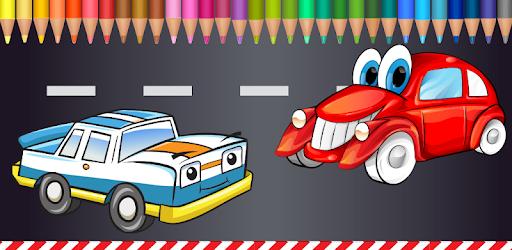 çocuklar Için Boyama Arabaları Google Playde Uygulamalar