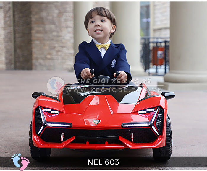 xe ô tô điện trẻ em Lamborghini NEL-603 4