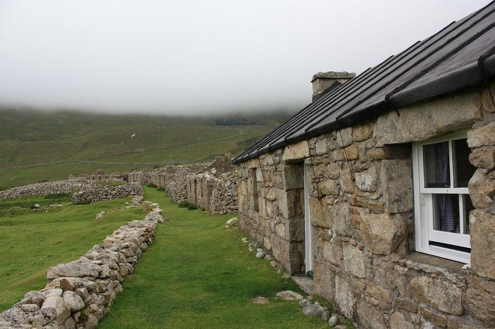 St Kilda, o antigo lar do povo pássaro