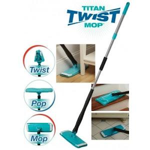 Mop cu microfibre Titan Twist