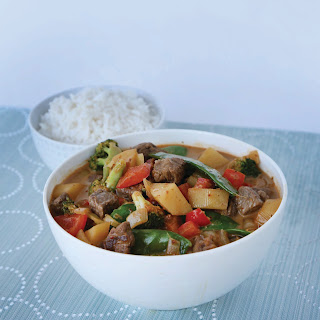 Rendang Beef and Vegetable Curry