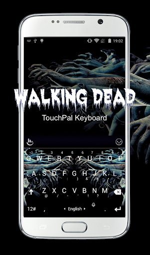 Walking Dead Keyboard Theme