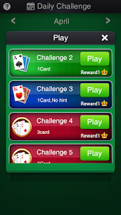 Solitaire: Daily Challenges - náhled