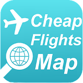 Cheap Flights Map