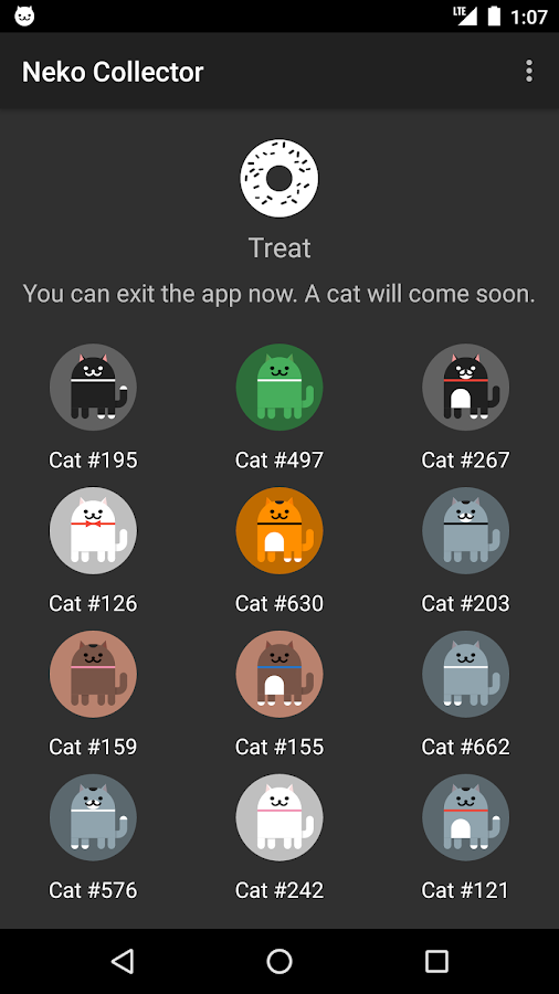 Neko Collector (Open Source)- screenshot