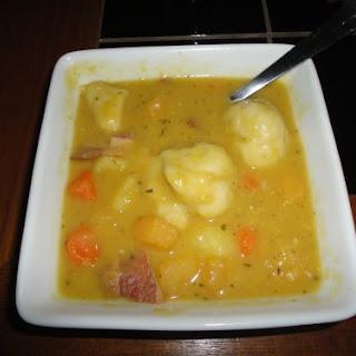 Newfoundland Pea Soup.