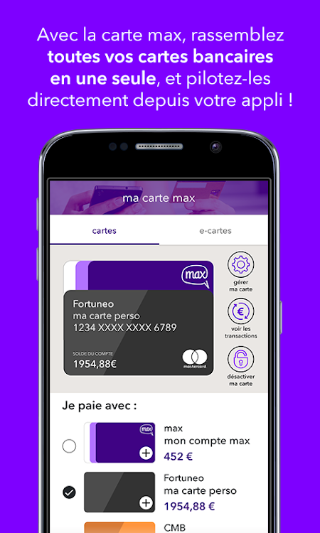 Nouvelle Carte Max.Max Android Apps Appagg