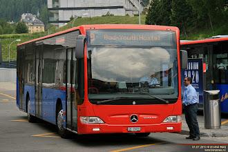 Photo: GR 15029 ved St. Moritz Bahnhof, 01.07.2010.