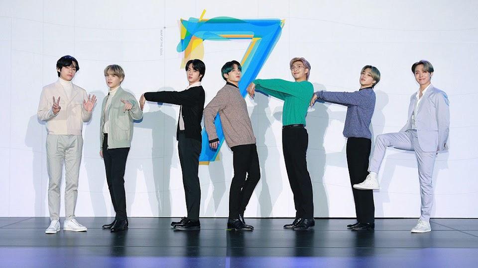 K-Pop boy band Bangtan Boys BTS in Seoul, Korea - 24 Feb 2020