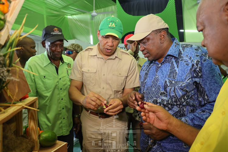 President Uhuru Kenyatta was the chief guest at the 67th Jamaica Agricultural Show at Denbigh ON Tuesday 6th, 2019.
