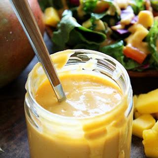 Creamy Mango Chipotle Salad Dressing