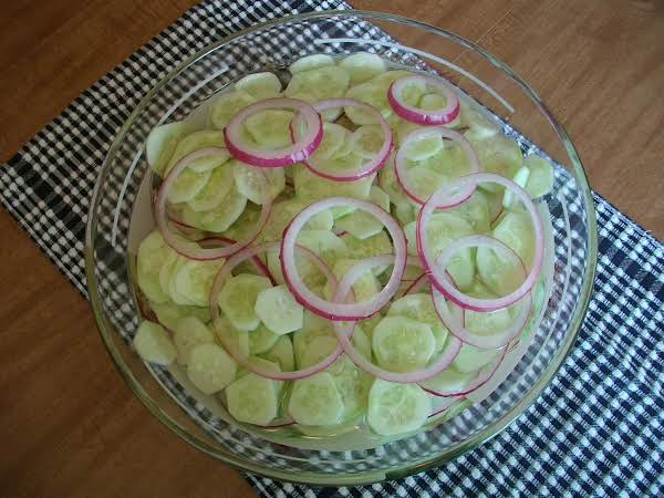 Cucumbers And Red Onions Recipe