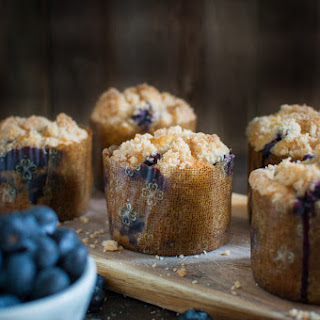 Double Streusel Blueberry Muffins Recipe