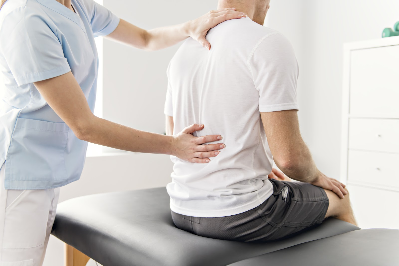 A small percentage of lower back pain symptoms can be the cause of a serious medical condition
