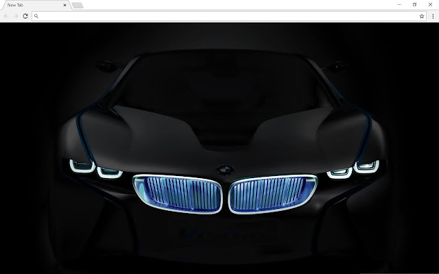 BMW Cars New Tab Page