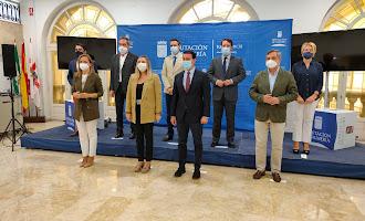 La Consejera de Fomento visita la Diputación de Almería