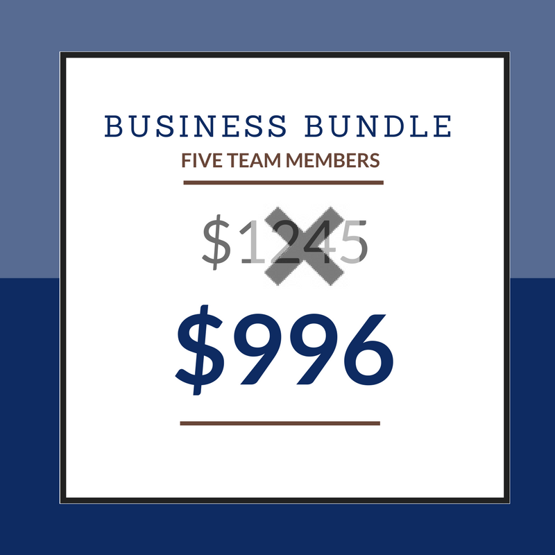 Business Bundle - 5 Students