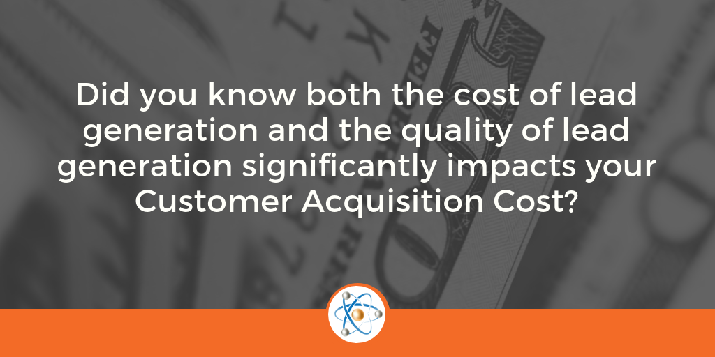 What impacts your customer acquisition cost