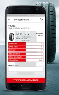 Inter-Sprint Tyre Order App- screenshot thumbnail
