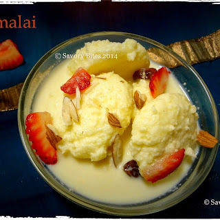 Rasmalai / Cottage Cheese Dumpling in Milk