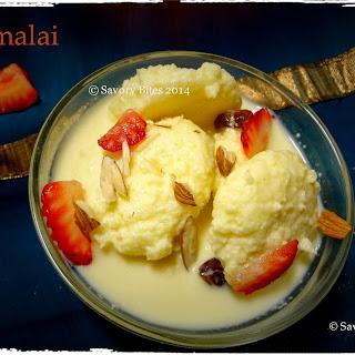 Rasmalai / Cottage Cheese Dumpling in Milk.