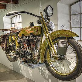 by Karen McKenzie McAdoo - Transportation Motorcycles