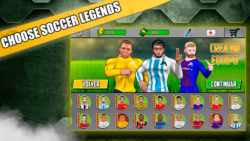 Free soccer game 2018 - Fight of heroes 1.6 screenshots 10