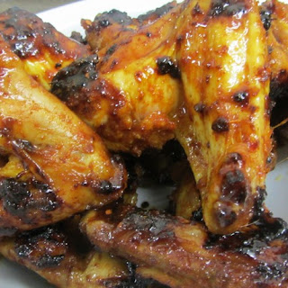 Spicy Honey Wings In The Oven.