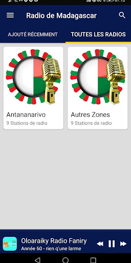 Madagascar Radio Stations screenshot 6