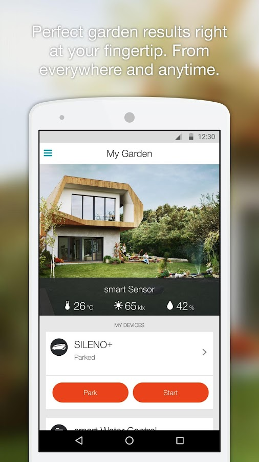GARDENA smart system- screenshot