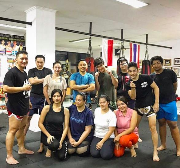 baan muay thai fitness class