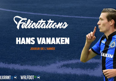 Hans Vanaken est notre Joueur de l'Année !