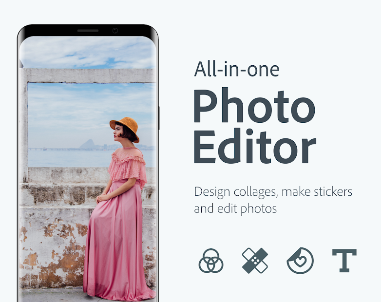 Adobe Photoshop Express:Photo Editor Collage Maker Android App Screenshot