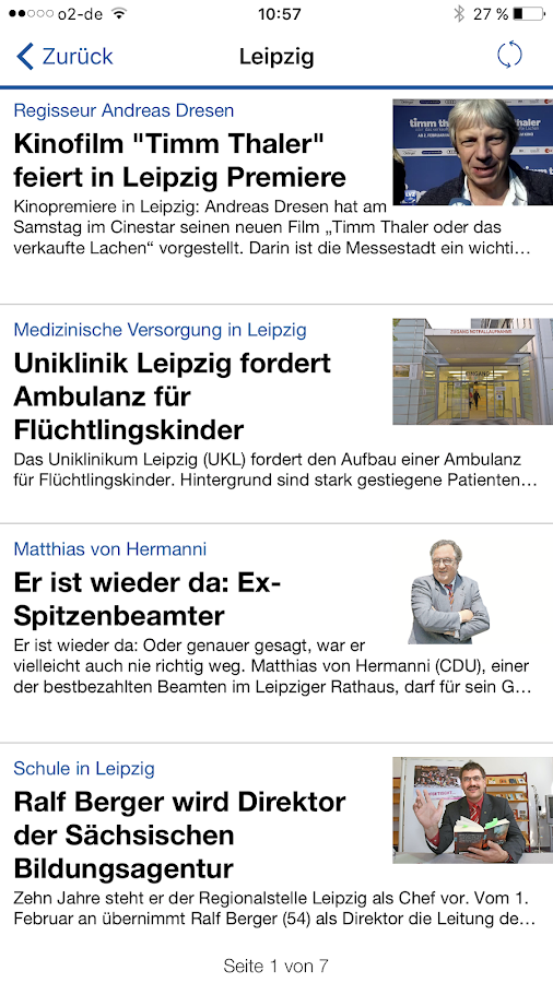 LVZ News – Screenshot
