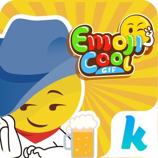 Kika Emoji Cool Sticker GIFs Icon