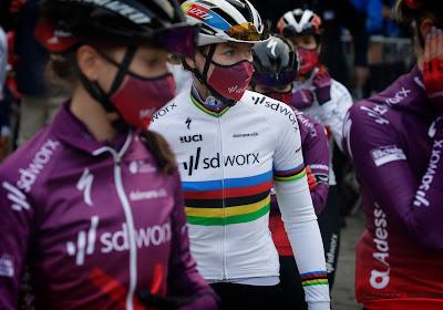 Ze doet het opnieuw! Anna van der Breggen voor zevende keer op rij(!) onverslaanbaar op 'haar' Muur van Hoei