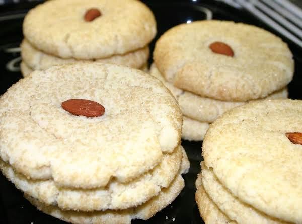 Ginger Almond Cookies Recipe