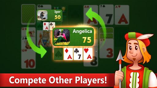 Klondike Solitaire: PvP card game with friends filehippodl screenshot 5