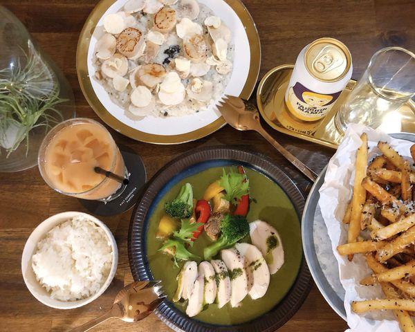 新竹IG打卡餐廳 富穀沺FuGooTain 裡的歐式風格美食