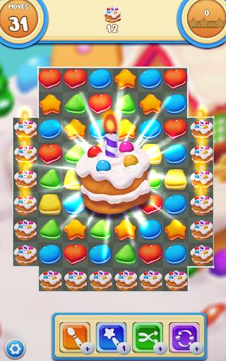 Cookie Macaron Pop : Sweet Match 3 Puzzle filehippodl screenshot 14