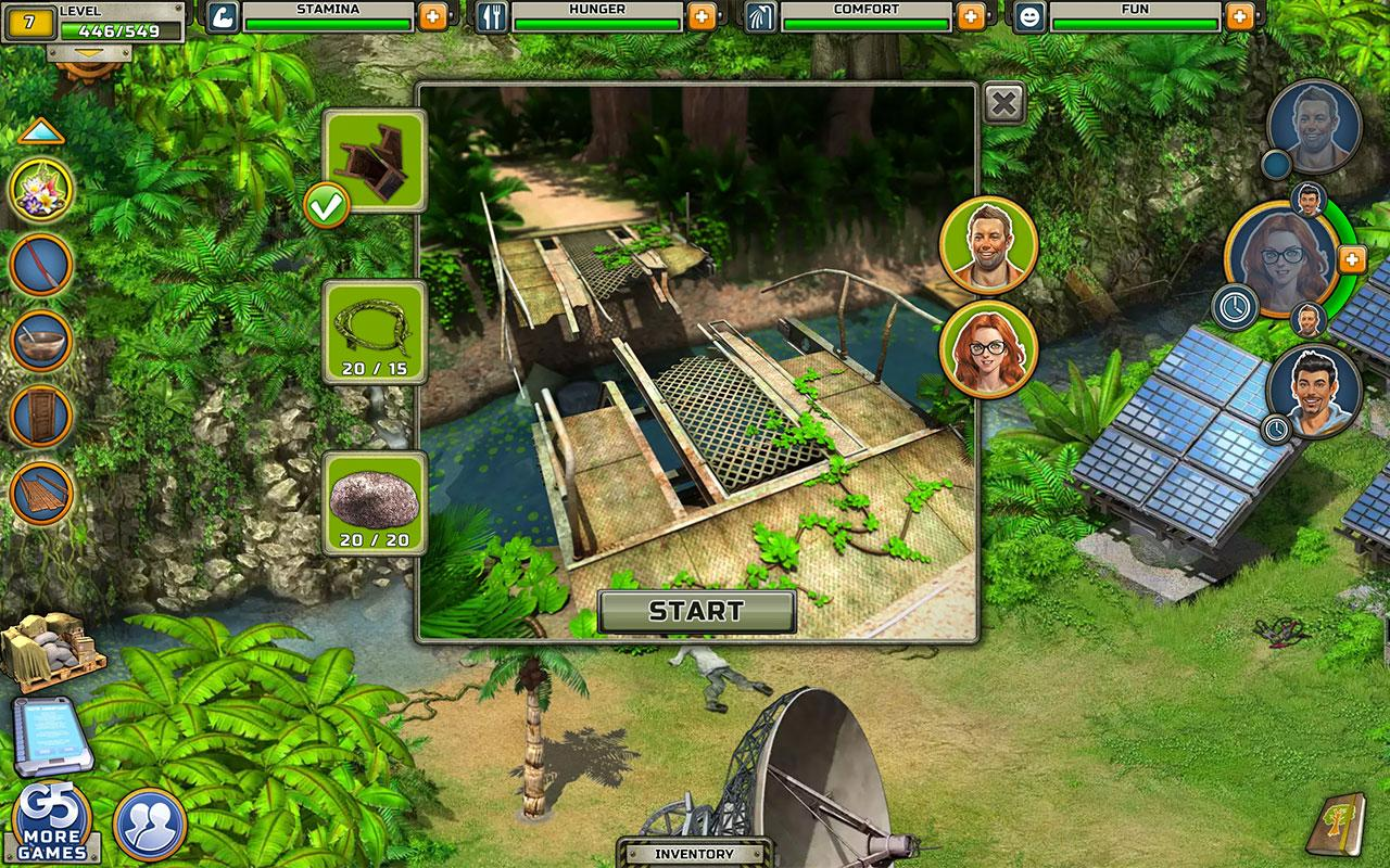 Screenshots of Survivors: The Quest® for iPhone