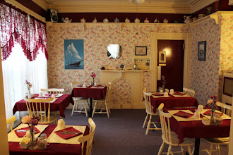 Photo: Breakfast room at Lunenburg Inn.