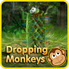 Dropping Monkeys 3D Board Game - Play Together icon