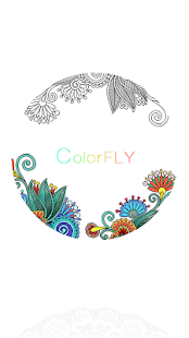 Colorfly : Coloring Games: miniatura de captura de pantalla