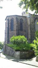 Photo: Der Chor der orthodoxen Kirche (Auferstehungskirche) von der Elfriedenhöhe beim unteren Stadtgarteneingang aus gesehen.