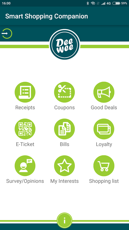 Smart Shopping Companion: Tap-n-Go eReceipt (Unreleased)- screenshot